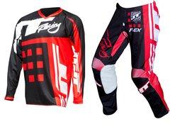 Кроссовый костюм JT RACING USA-Flex-ExBox размер 34/L