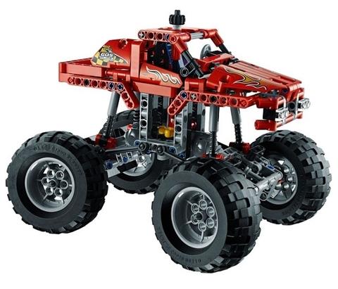 LEGO Technic: Монстрогрузовик 42005 — Monster Truck — Лего Техник