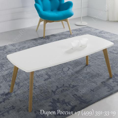 Журнальный стол DUPEN CT-903 Белый