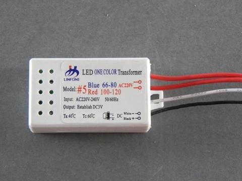 Драйвер LED 66-80 для одноцветных диодов