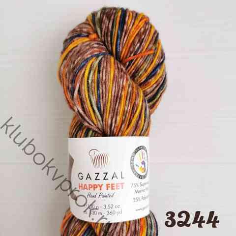 GAZZAL HAPPY FEET 3244, Коричневый/синий/оранжевый