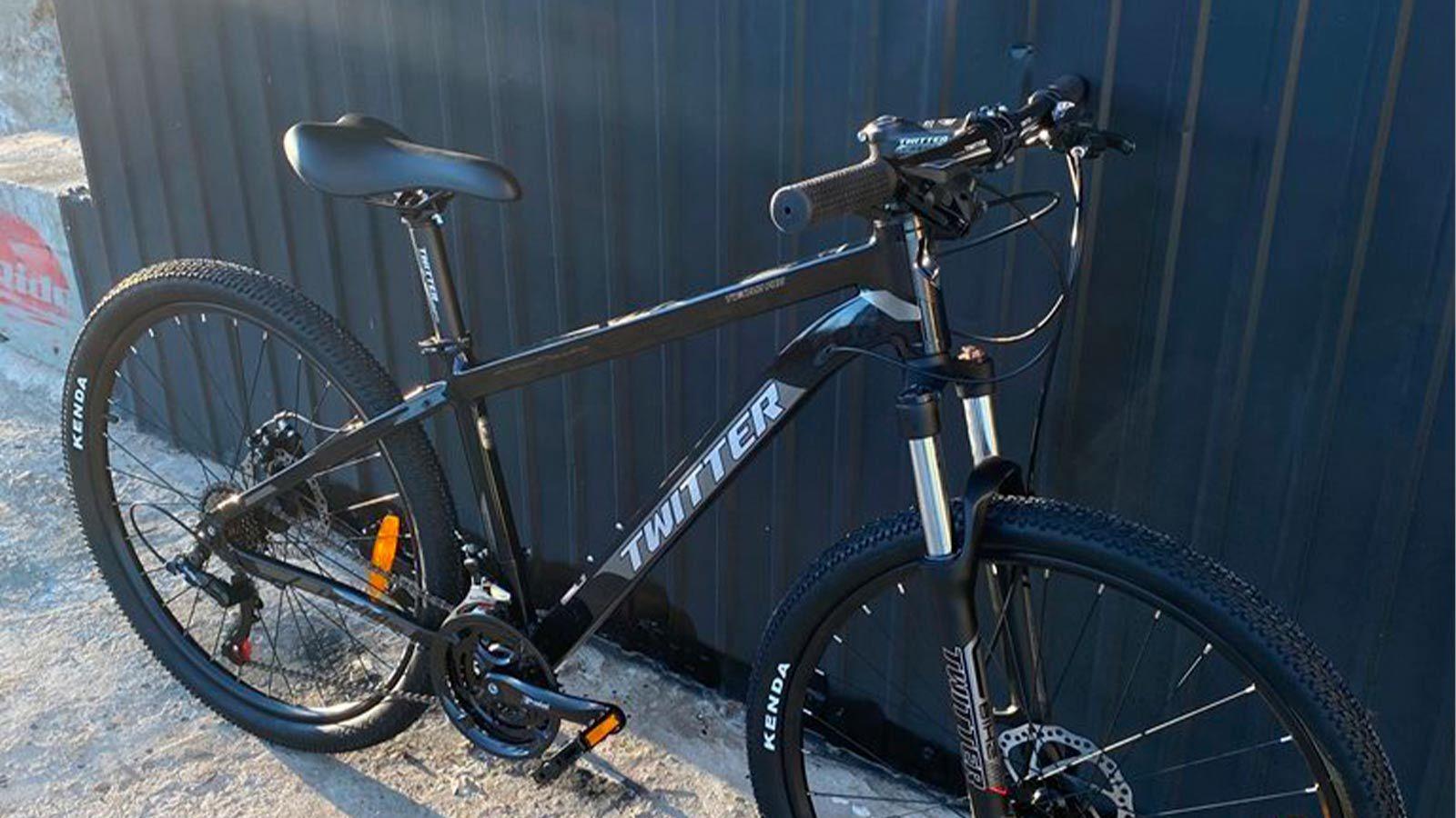 горный велосипед TWITTER TW3700, вид спереди