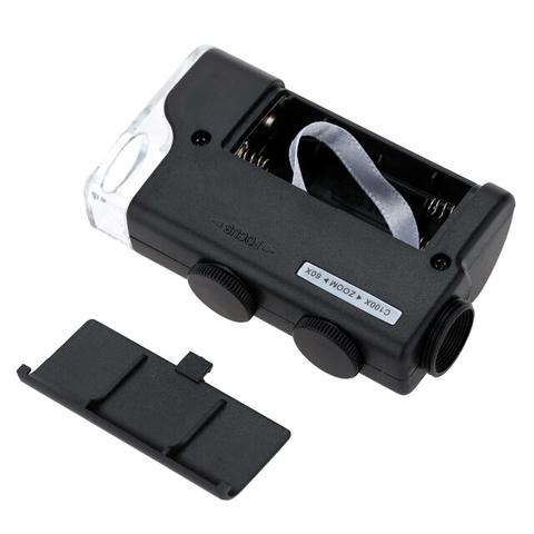 Микроскоп для телефона 60-100х увеличение