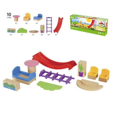 BRIO 33955 Игровой набор для деревянной железной дороги
