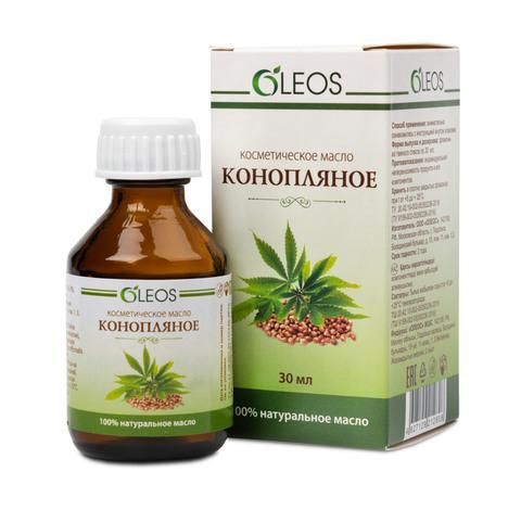Косметическое масло Конопляное Oleos