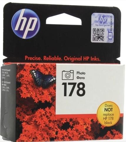 Оригинальный картридж HP CB317H 178 черный