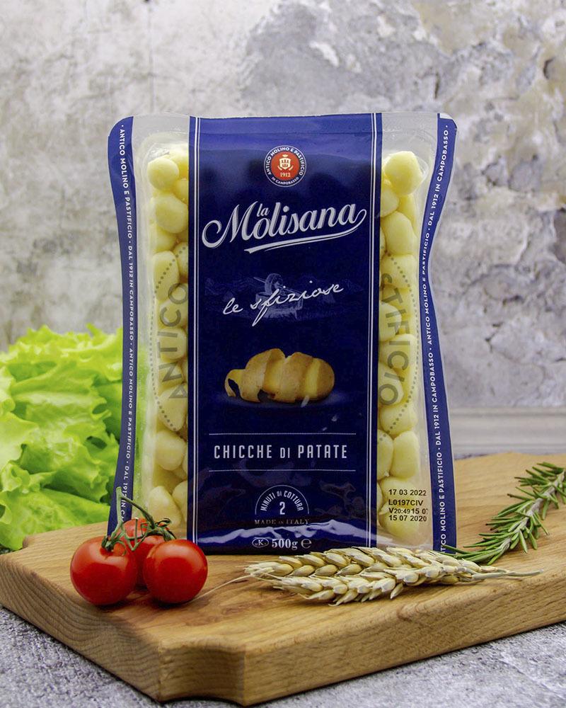 Картофельные ньокки (клёцки мелкие) La Molisana 500 гр.