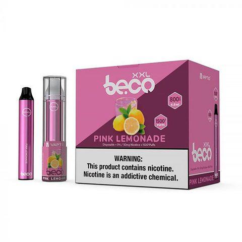 Одноразовая электронная сигарета Beco XXL Pink Lemonade (Розовый Лимонад)