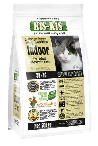 KiS-KiS Indoor Для домашних кошек всех пород 500 гр.