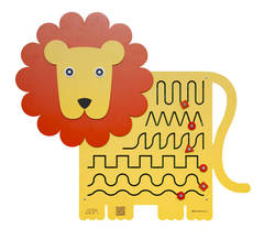 Бизиборд Лев Царь зверей Размер: 104 х 92 см