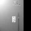 Встраиваемый смеситель для душа с душевым комплектом YPSILON K6615021 на 2 выхода - фото №2