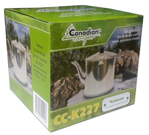 Чайник Canadian Camper СС-K227, упаковка.