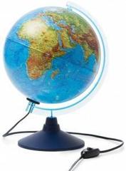 İnteraktiv qlobus fiziki-siyasi 25sm (işıqlı)