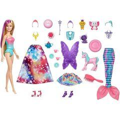 Кукла Барби  и Адвент календарь сюрпризов (уценка, коробка)
