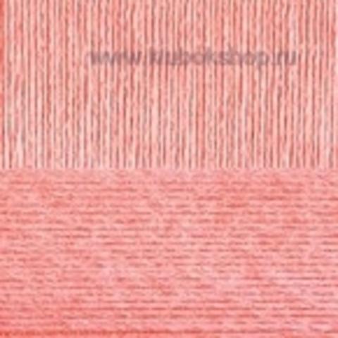 Пряжа Вискоза натуральная Пехорский текстиль Лосось 283