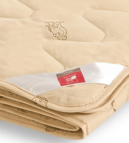 Одеяло легкое из верблюжьей шерсти Верби 172x205
