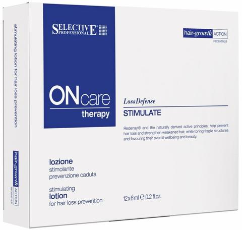 Стимулирующий лосьон от выпадения волос, Selective Oncare Hair Loss ,12*6 мл