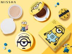 Распродано - Кушон Missha Minions Edition M Magic Cushion Moisture Special Set SPF50 /PA, 15 мл+15 мл
