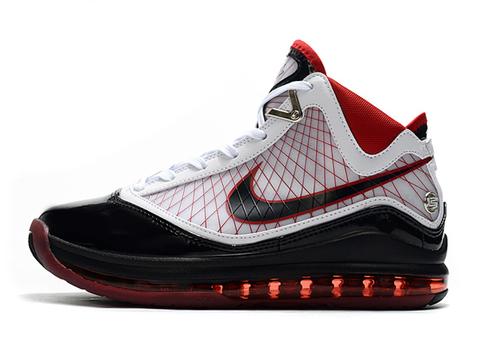 Nike Lebron 7 'Black/White/Red'