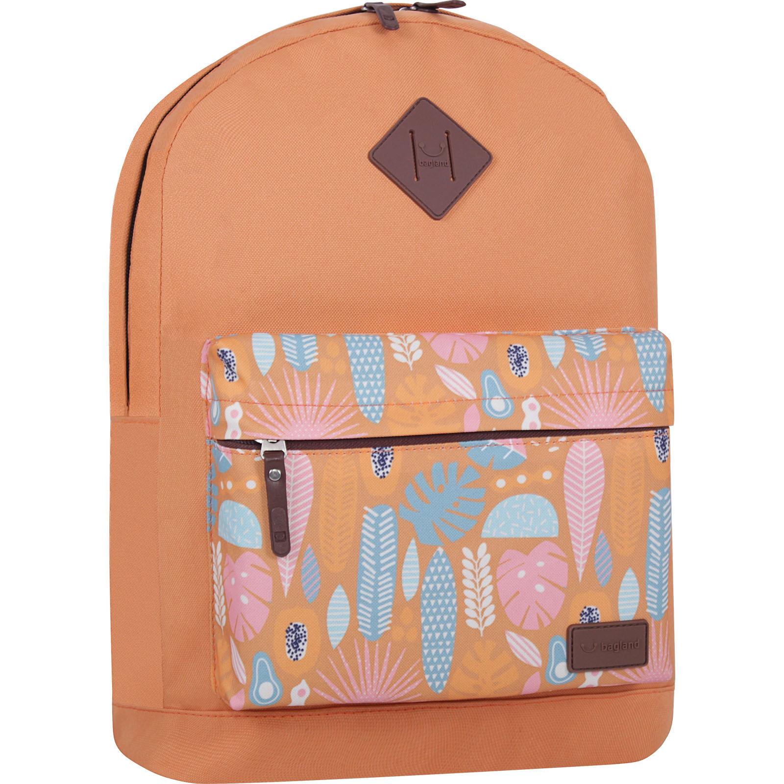 Молодежные рюкзаки Рюкзак Bagland Молодежный W/R 17 л. Рыжий 746 (00533662) IMG_7329_суб746_-1600.jpg