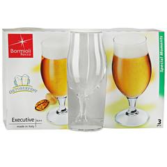 Набор из 3 бокалов для пива «Executive», 530 мл, фото 3