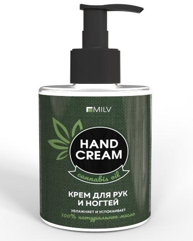 Крем для рук и ногтей с конопляным маслом и пантенолом, 300 мл
