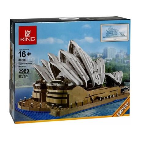 Конструктор King 88003 Сиднейский оперный театр