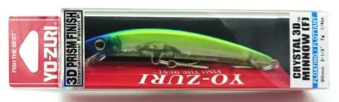 Воблер Yo-Zuri Crystal 3D Minnow 90 F / F1145-C58