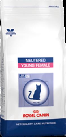 743035 R.С. ВКН Ньютрид Янг Фимэйл для стерилизованных кошек до 7 лет 3,5кг*4