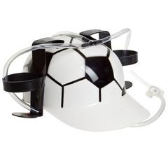 Каска с подставками под банки пива «Футбол», фото 2
