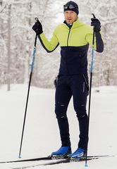 Утеплённый лыжный костюм Nordski Premium Green-Blueberry 2020 мужской