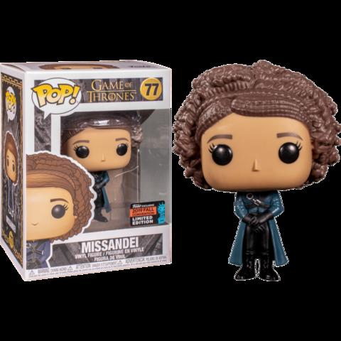 Фигурка Funko Pop! TV: Game of Thrones - Missandei (Excl. to New York Comic Con 2019)