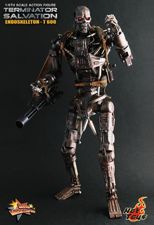 Terminator 4 Salvation - T-600 Endoskeleton