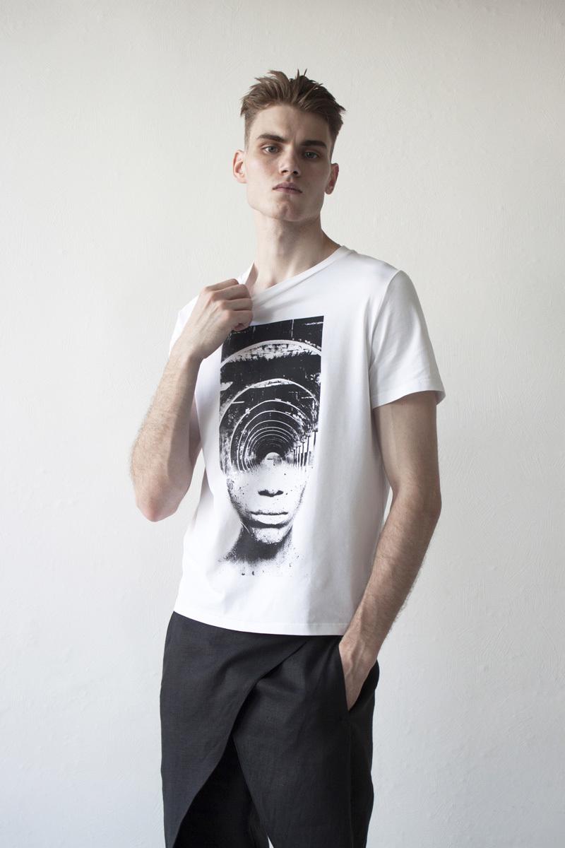 Мужская футболка «Лабиринт»