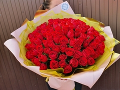 101 импортная роза