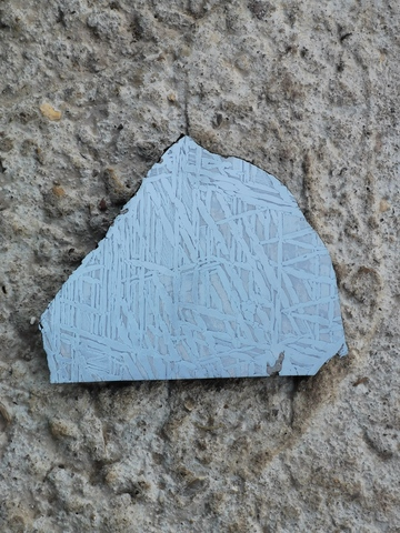 Пластина метеорита Сеймчан