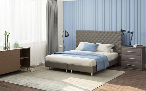 Кровать Proson Paris Boxspring Elite с пружинным блоком Bonnel