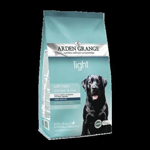 Arden Grange Adult Light Сухой корм для взрослых собак Диетический