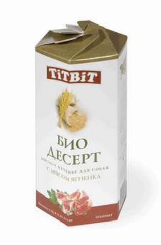 Титбит 6926 Печенье с мясом ягненка стандарт  350г*8