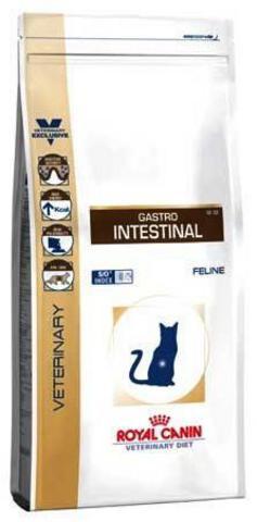 R.С. Гастро-Интестинал GI32 д/кошек при заболеваниях печени и нарушениях пищеварения 400гр*10