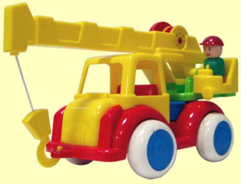 Автокран машина игрушка