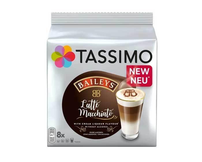 Кофе в капсулах Baileys Latte Macchiato, 8 капсул для кофемашин Tassimo