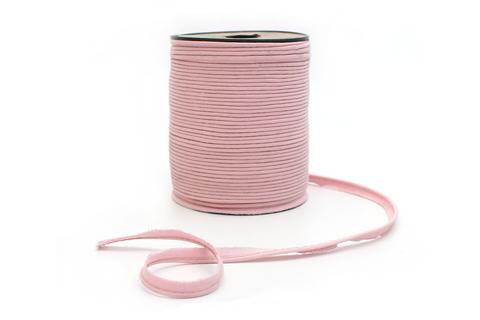 Кант хлопковый, нежно-розовый