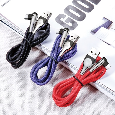 Кабель Baseus sharp-bird mobile game cable USB For Type-C 3A 1M Blue