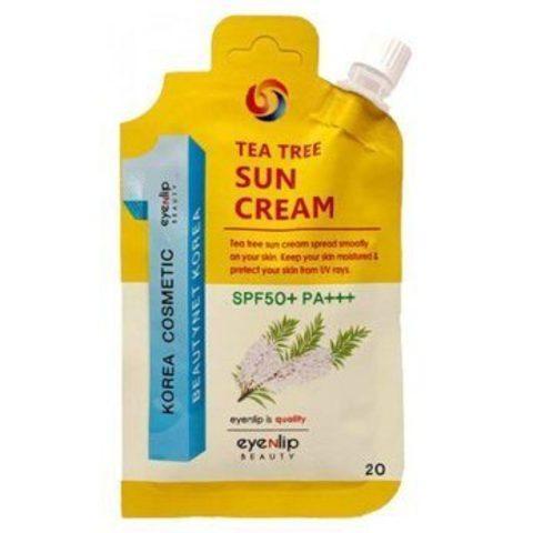 Солнцезащитный крем Eyenlip Tea Tree Sun Cream SPF50+ PA+++