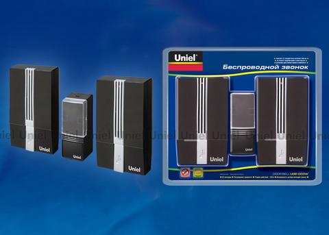 UDB-003W-R2T1-32S-100M-BL Звонок беспроводной. Блистерная упаковка