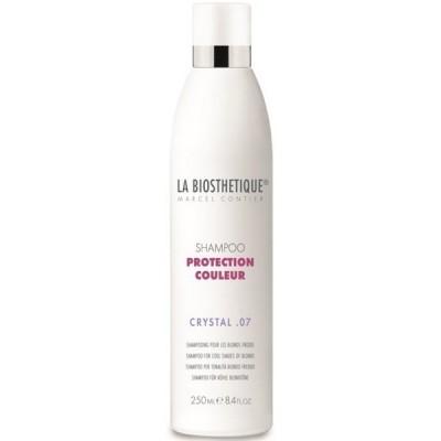 La Biosthetique Protection Couleur: Шампунь для окрашенных волос (холодные оттенки блонда) (Shampoo Protection Couleur Crystal 07), 250мл