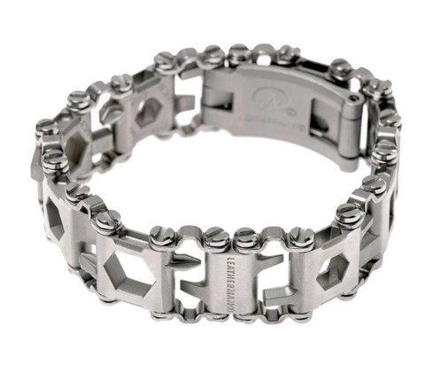 Мультитул-браслет Leatherman Tread LT Stainless Steel, узкий, 29 функций (832431) | Multitool-Leatherman.Ru