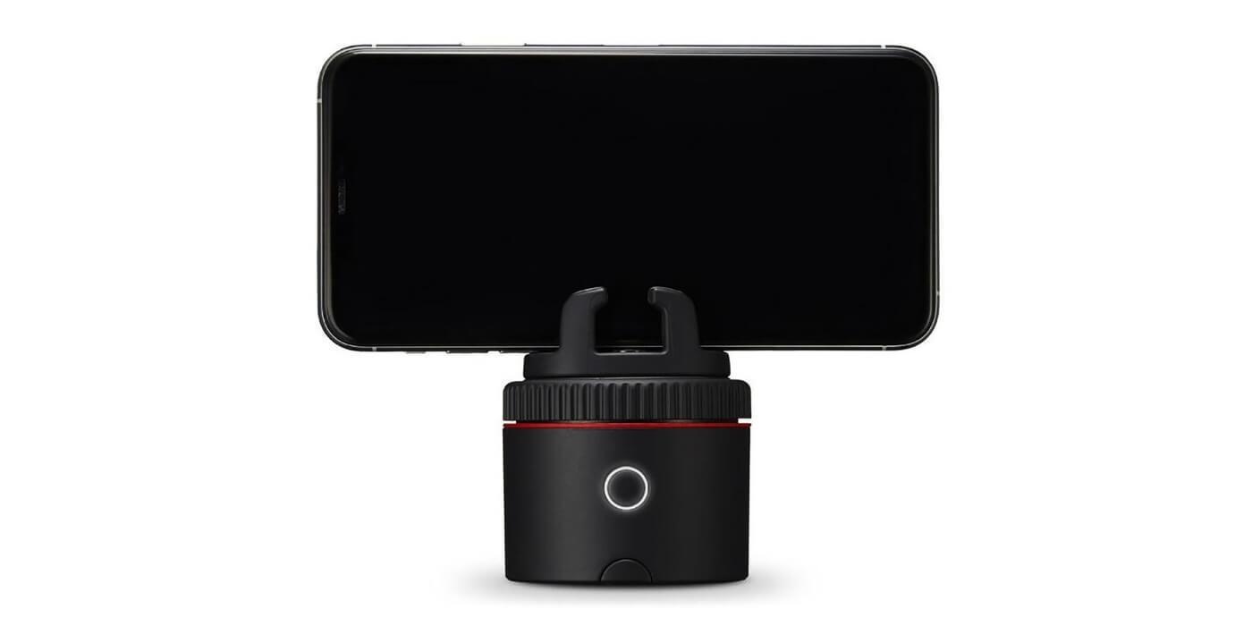 Умный стабилизатор-держатель для телефона Pivo Pod NPV (красный)