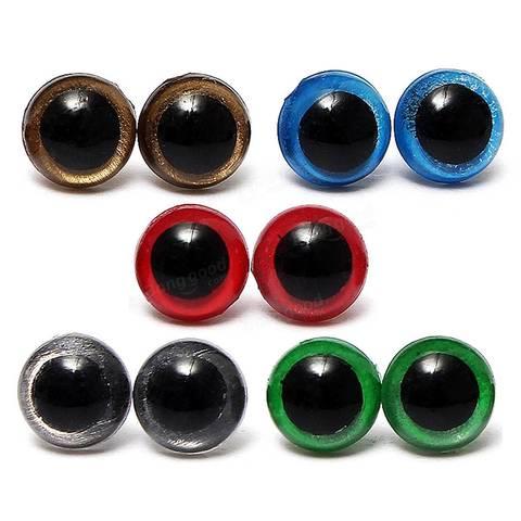 Глаза пластмассовые 14 мм ( 2 шт)